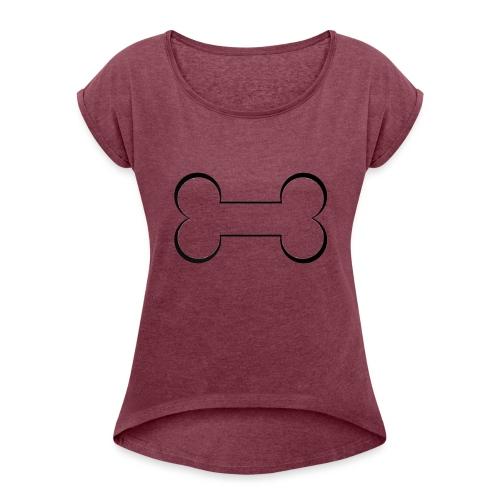 LeChien - Maglietta da donna con risvolti