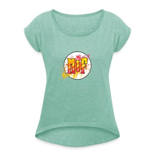 sport bacpack - T-shirt à manches retroussées Femme