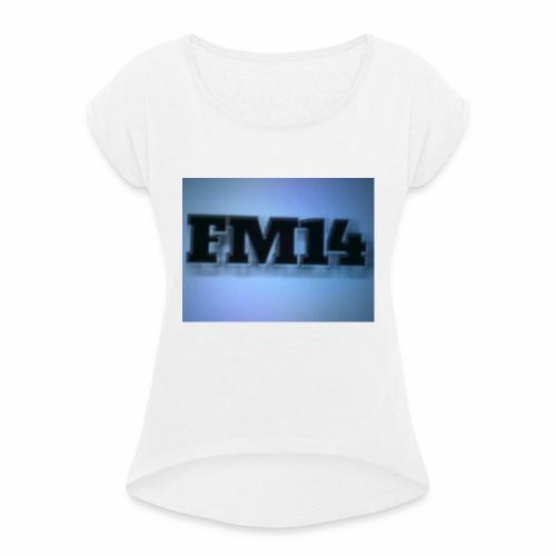Simbolo - Camiseta con manga enrollada mujer