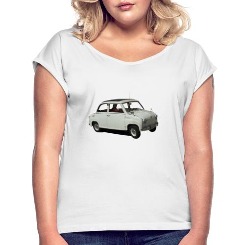 goggomobil - Frauen T-Shirt mit gerollten Ärmeln