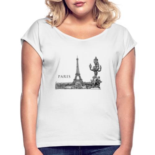 ALEXANDRE III - T-shirt à manches retroussées Femme