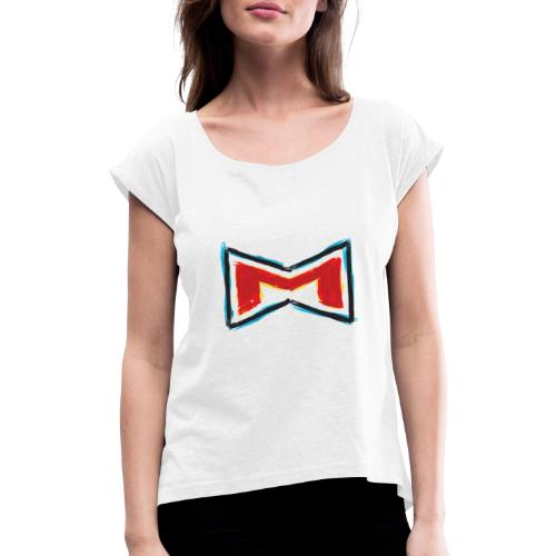 M Wear Painted - Women's T-Shirt with rolled up sleeves