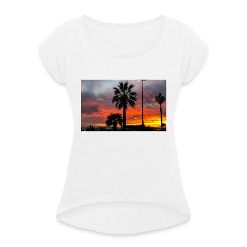 Palma - Maglietta da donna con risvolti