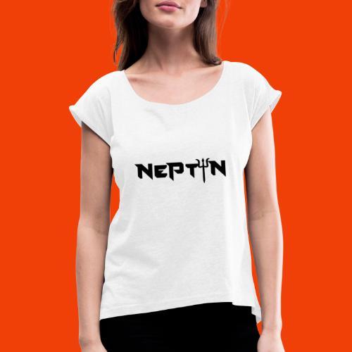 LOGO NEPTUN - Camiseta con manga enrollada mujer