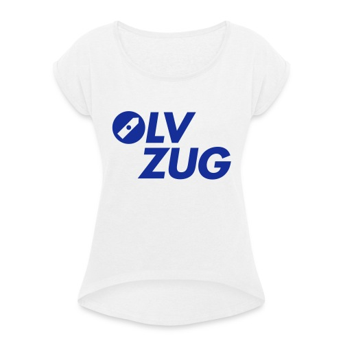 OLV_Zug_Logo_2_Z_ohneRand - Frauen T-Shirt mit gerollten Ärmeln