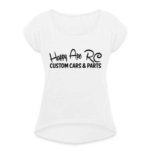 HappyApe t-shirt - T-shirt med upprullade ärmar dam