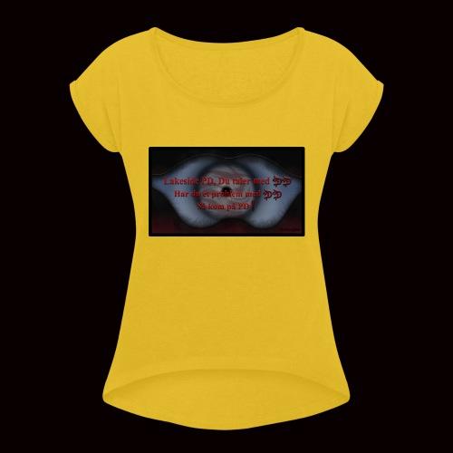 Lakeside PD, Du taler med DD! - Dame T-shirt med rulleærmer
