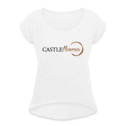 Castle Memories - Maglietta da donna con risvolti