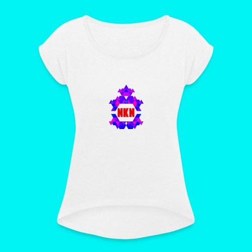 THE OFFICIAL NEUKADNEZZAR T-SHIRT - Women's T-Shirt with rolled up sleeves