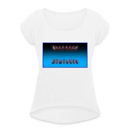 Tappetino per Mouse - Maglietta da donna con risvolti