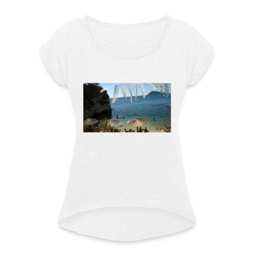 Cameo Island - Maglietta da donna con risvolti