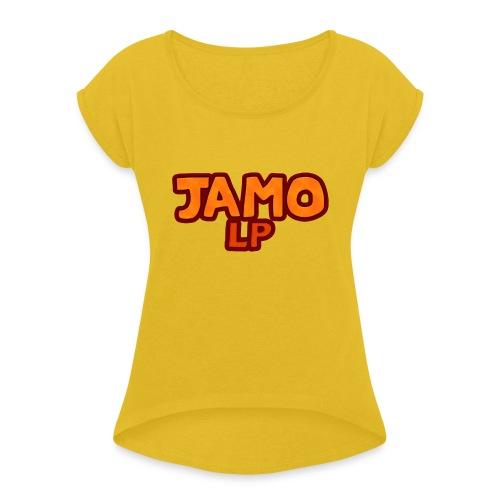 JAMOLP Logo Mug - Dame T-shirt med rulleærmer