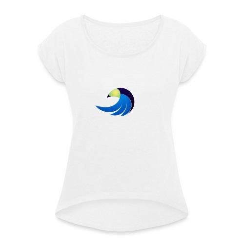 eagle - T-shirt à manches retroussées Femme