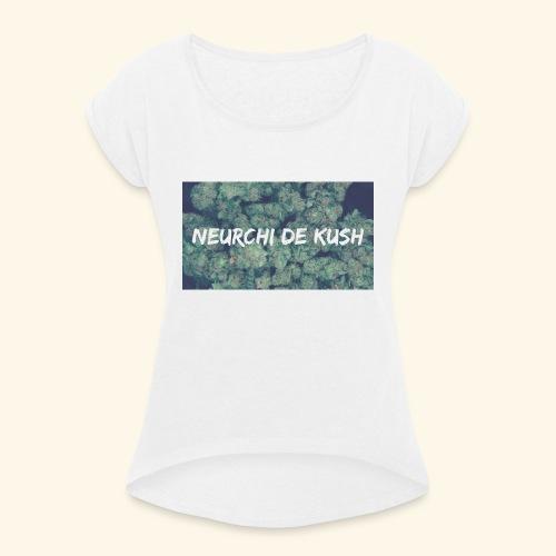 NEURCHI DE KUSH - T-shirt à manches retroussées Femme