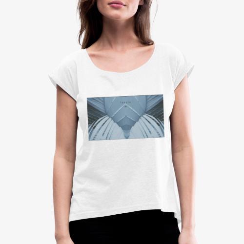 Mirror - Maglietta da donna con risvolti