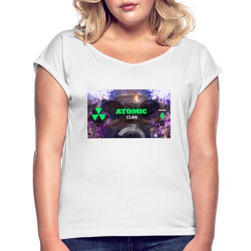 PicsArt 01 31 02 15 31 - Frauen T-Shirt mit gerollten Ärmeln