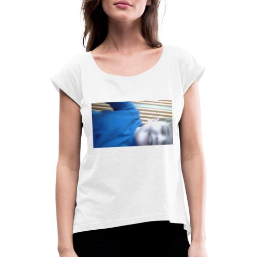 IMG 20200310 095829 - T-skjorte med rulleermer for kvinner