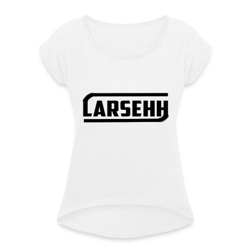 I phone 6 elastisch hoesje - Vrouwen T-shirt met opgerolde mouwen