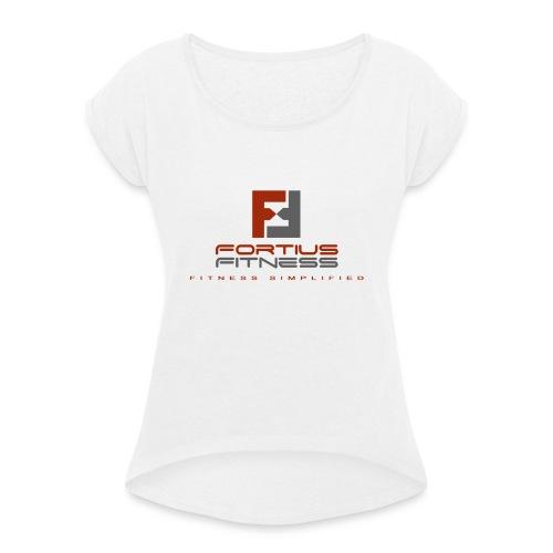 Fortius Fitness - Dame T-shirt med rulleærmer