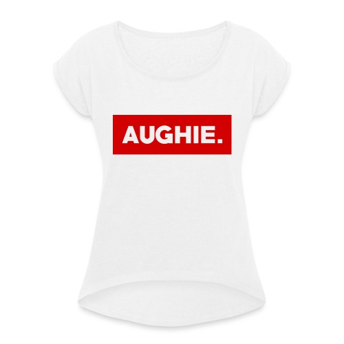 Aughie Design #2 - Women's T-Shirt with rolled up sleeves