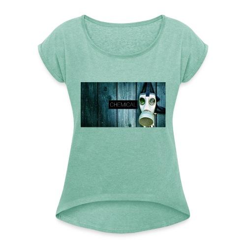 Gas - Maglietta da donna con risvolti