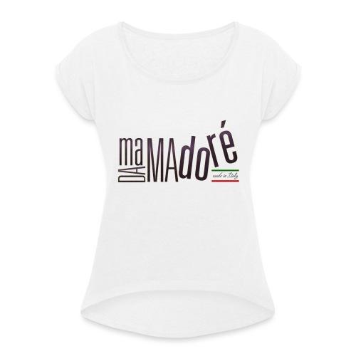 Boccale per Birra - Logo Standard - Maglietta da donna con risvolti