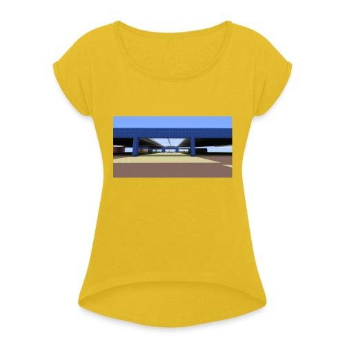 2017 04 05 19 06 09 - T-shirt à manches retroussées Femme
