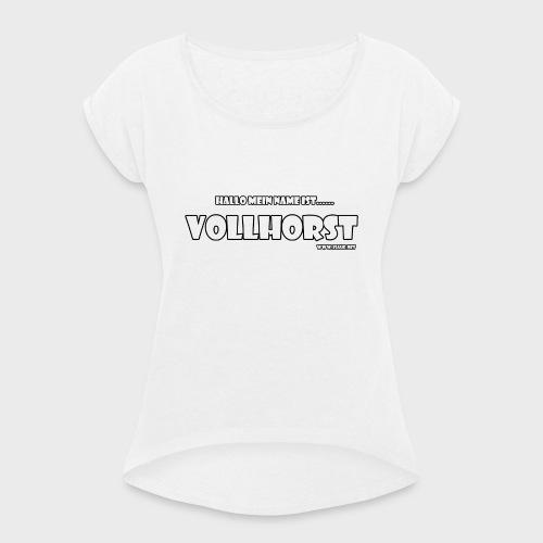 Vollhorst - Frauen T-Shirt mit gerollten Ärmeln