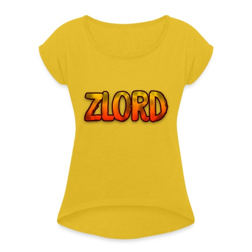 YouTuber: zLord - Maglietta da donna con risvolti