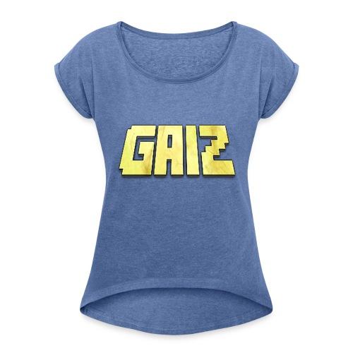 POw3r-gaiz maglia - Maglietta da donna con risvolti