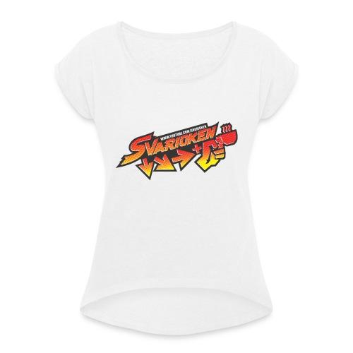 Maglietta Svarioken - Maglietta da donna con risvolti