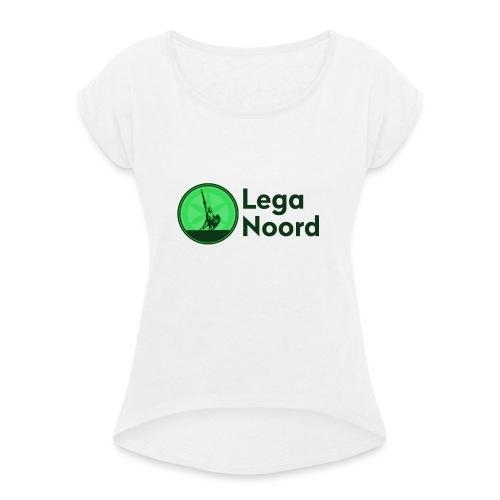 Lega Noord - Maglietta da donna con risvolti