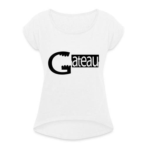 Gateau - T-shirt à manches retroussées Femme