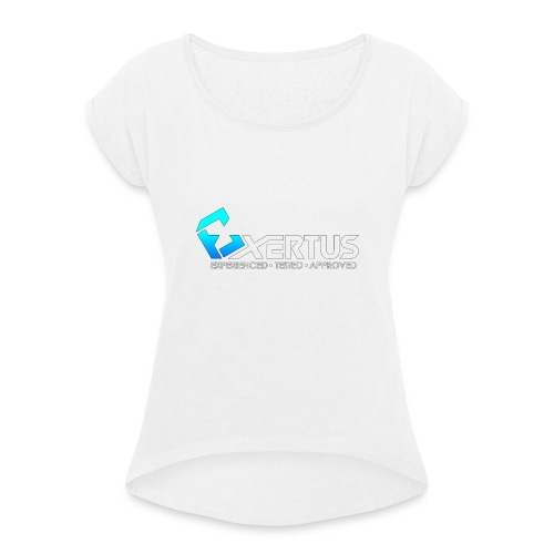Exertus Standard Hoodie - Women's T-Shirt with rolled up sleeves