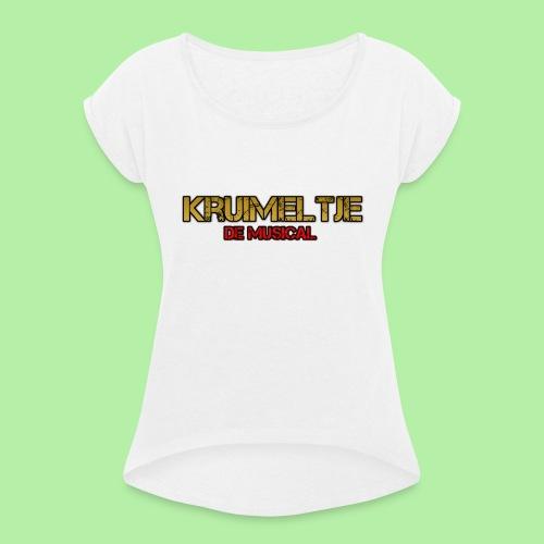 Hoesje I-phone 6/6s Kruimeltje de Musical - Vrouwen T-shirt met opgerolde mouwen