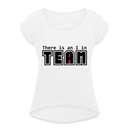 Équipe I - T-shirt à manches retroussées Femme