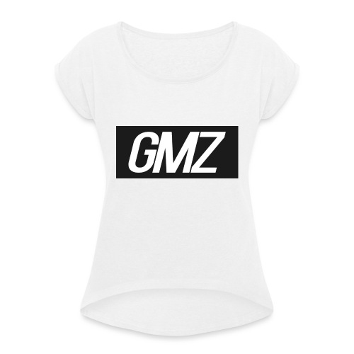Untitled 3 - Women's T-Shirt with rolled up sleeves