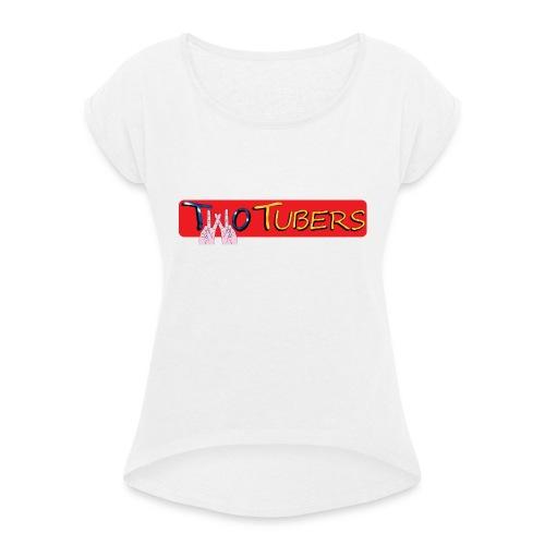 Orsetto TWOTUBERS - Maglietta da donna con risvolti