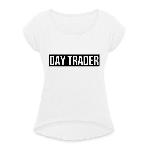 DAY TRADER - T-shirt à manches retroussées Femme