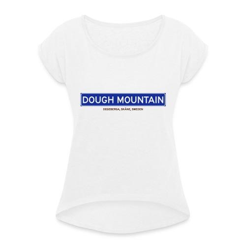 Degeberga, Badly Translated - T-shirt med upprullade ärmar dam