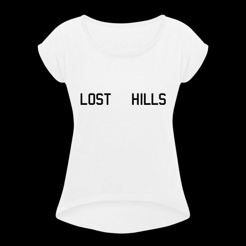 LOST HILLS - Women's T-Shirt with rolled up sleeves
