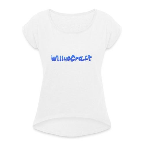 WilLucCraft SweatShirt - Dame T-shirt med rulleærmer