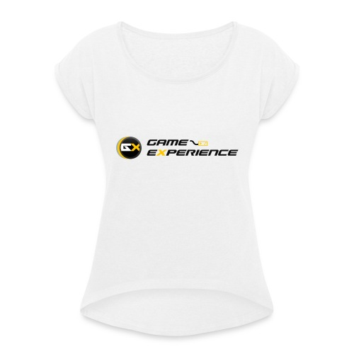 Maglietta Game-eXperience - Maglietta da donna con risvolti