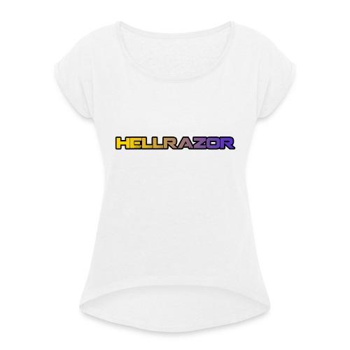Hellrazor MK5 - Maglietta da donna con risvolti