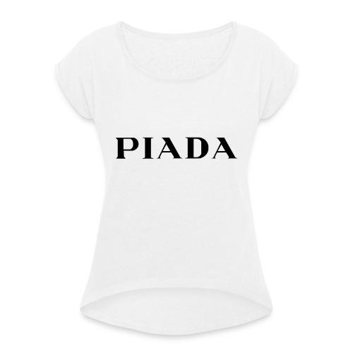 PIADA - Maglietta da donna con risvolti
