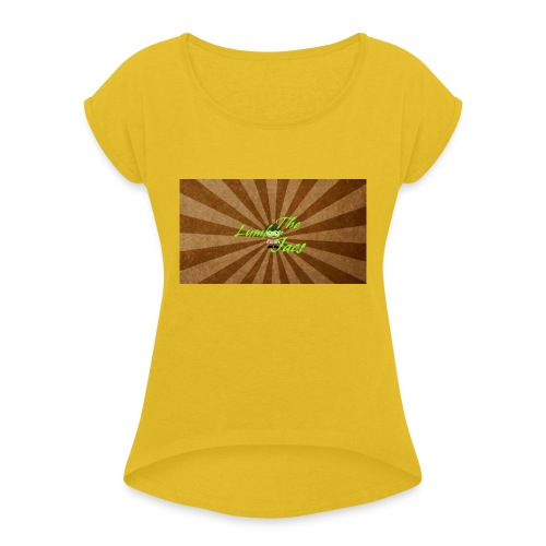 THELUMBERJACKS - Women's T-Shirt with rolled up sleeves
