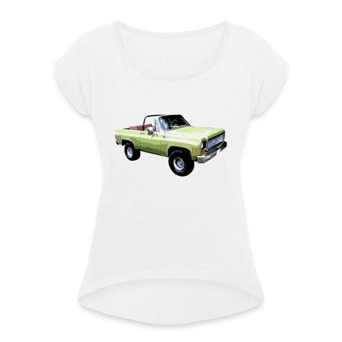 1974 K5 Blazer - Frauen T-Shirt mit gerollten Ärmeln