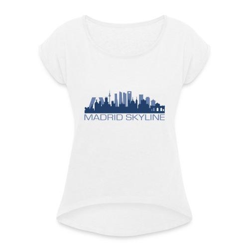 MADRIDSKYLINE - Camiseta con manga enrollada mujer