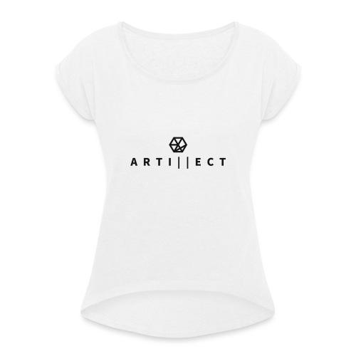 Artillect - T-shirt à manches retroussées Femme
