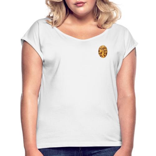 Pastéis or nothing - Frauen T-Shirt mit gerollten Ärmeln